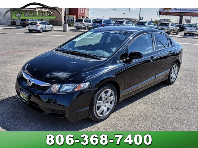 Pre-Owned 2010 Honda Civic Sdn 4dr Auto LX