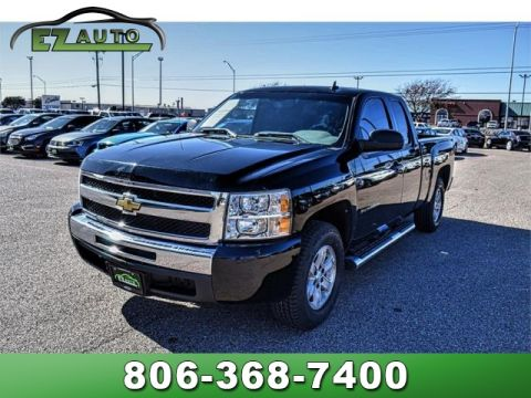 Pre-Owned 2011 Chevrolet Silverado 1500 2WD Ext Cab 143.5 LS