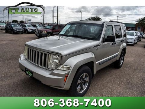 Pre-Owned 2008 Jeep Liberty 4WD 4DR SPORT